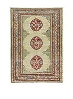 Eden Carpets Alfombra Anar Gul Verde/Rojo/Beige 200 x 145 cm