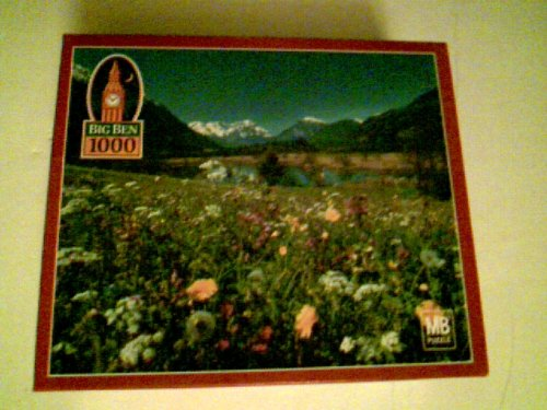 Big Ben 1000 Piece Puzzle 20 1/8' X 26 3/16' - Flower Blossoms, Germany