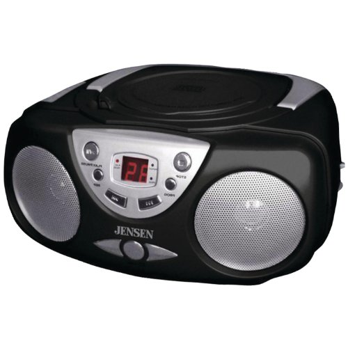 jensen cd472b am fm cd boom box reviews radio reviews. Black Bedroom Furniture Sets. Home Design Ideas