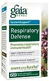 Gaia Herbs Respiratory Defense, 60-capsule Bottle