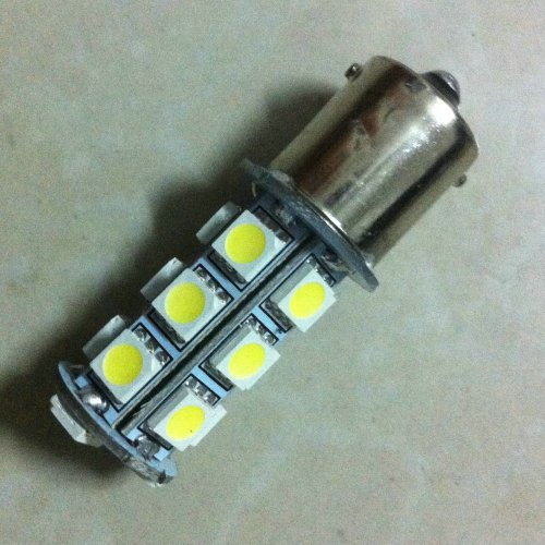Car Rv Trailer White 1156 Ba15S 5050 18Smd Led Light Bulb 7503 1141 1073