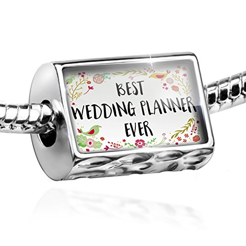 Bead Happy Floral Border Wedding Planner Charm by NEONBLOND