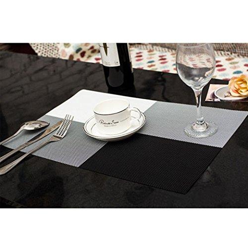 DGI MART Home Use Table Decorative Pads PVC Table