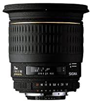 Sigma 20mm f/1.8 EX DF RF Aspherical Wide Angle Lens for Minolta and Sony SLR Cameras