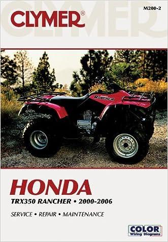 Honda TRX350 Rancher 00-06 (Clymer Motorcycle Repair)