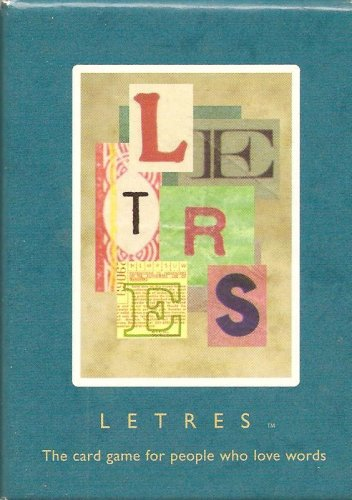 LETRES The card game for people who love words. - 1