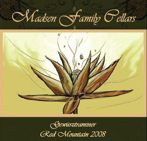 2008 Madsen Family Cellars Red Mountain Dry Gewurztraminer 750 Ml