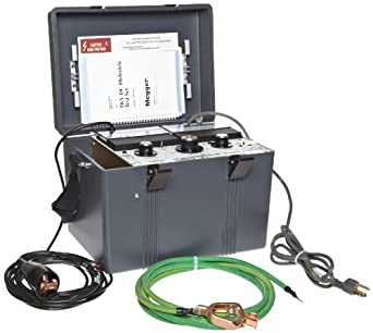 Megger 220005 Dc Dielectric Test Set 5 Kv Test Voltage 5ma Current Insulation