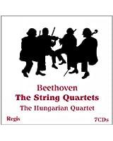 Beethoven : Quatuors à cordes. The Hungarian Quartet.