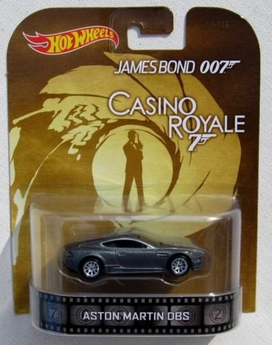 Hot Wheels James Bond 007 Casino Royale Aston Martin DBS Silver - 1