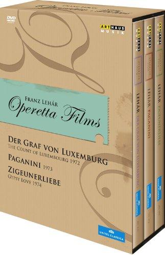 フランツ・レハール:オペレッタ集(映画版)[DVD 3枚組]