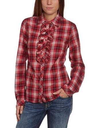 LERROS Damen Bluse 3292062, Gr. 34, Orange (VINTAGE CORAL 321)