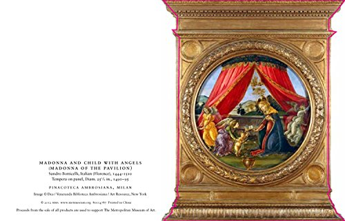 The Metropolitan Museum of Art Die-Cut Holiday Cards, Madonna of the Pavilion, 15-Count (MXC1211)