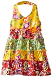 Blueberi Boulevard Baby-Girls Infant Flower Border Halter Sundress