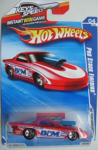 HOT WHEELS PRO STOCK FIREBIRD PERFORMANCE SERIES WITH INSTANT WIN GAME PACKAGE