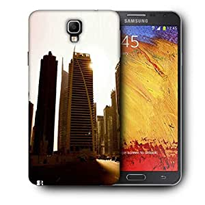 Snoogg Roads In Dubai Printed Protective Phone Back Case Cover For Samsung Galaxy NOTE 3 NEO / Note III