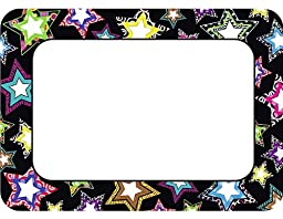 Teacher Created Resources Fancy Stars Name Tags (5260)