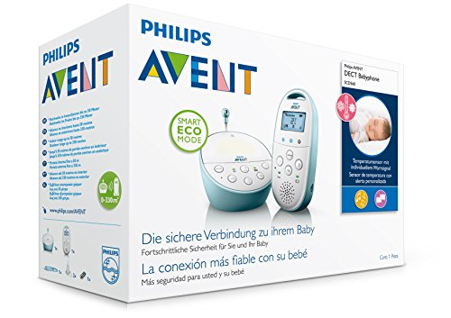 philips avent scd560 00 dect babyphone smart eco mode temperatursensor batterien arena. Black Bedroom Furniture Sets. Home Design Ideas