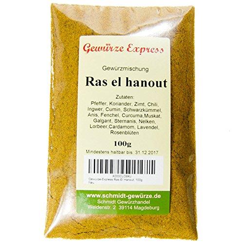 Ras El Hanout , Miscela maroccina GR 100