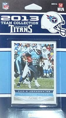 Tennessee Titans 2013 Score Factory Sealed 9 Card Team Set