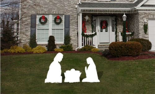Outdoor Nativity Set - Yard Nativity Scene