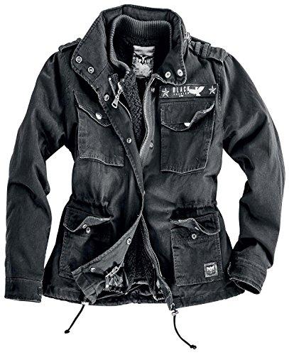 Black Premium by EMP Ladies Field Jacket Giacca donna nero XS