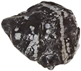 American Educational Snowflake Obsidian Igneous Rock, 1Kg