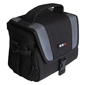 GEM Compact Case for Samsung NX210, NX1000, with 20-50mm NX iFunction Standard Zoom Lens Attached, plus Limited Accessories