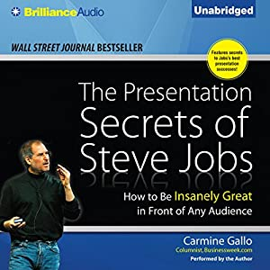 The Presentation Secrets of Steve Jobs Audiobook