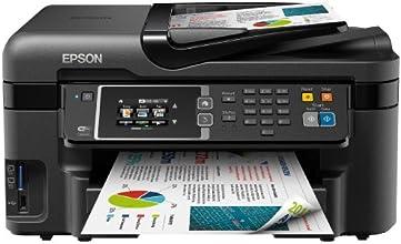 Epson WorkForce WF-3620DWF Multifunktionsgerät (Scannen, kopieren und Faxfunktionen) schwarz