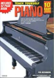 Cover art for  10 EASY LESSONS PIANO DVD AND BOOKLET IN CASE