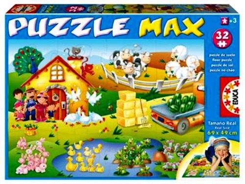 Cheap Fun Educa Jumbo Floor Puzzle The Farm (B0012ZUR7S)