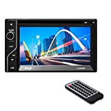 Pyle PLDN63BT Double DIN Bluetooth 6.5-Inch Touch-Screen CD/DVD Player