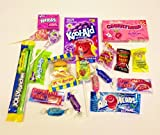 American sweets and candy box by Dolci Di Lechlade Kool Aid Jolly Rancher Wonka Airheads Cherryheads Warheads