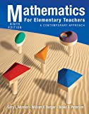img - for Mathematics for Elementary Teachers: A Contemporary Approach book / textbook / text book