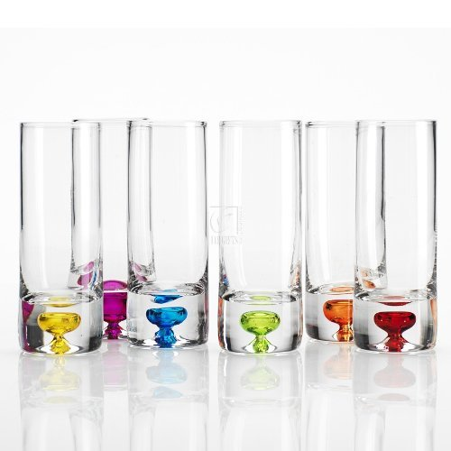 2.5 Oz. Giggle Vodka Shot Glass (Set Of 6)