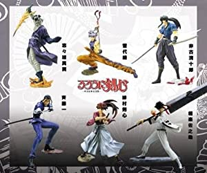 Rurouni Kenshin Action Figure Set CM20274