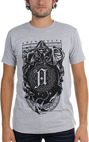 Architects -  T-shirt - Uomo Grigio melange Small