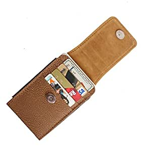 DooDa PU Leather Pouch Case Cover With Magnetic Closure For Coolpad Dazen 1