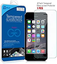 JETech® Apple iPhone 5/5S/5C Film Protection en Verre trempé écran protecteur ultra résistant Glass Screen Protector pour iPhone 5/5S/5C