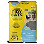 Tidy Cats Instant Action Cat Litter, Non-clumping, 40 Lb, (Pack of 2)