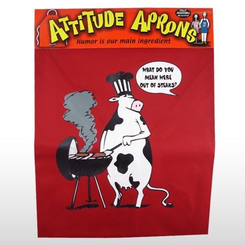 (#2012) Cow BBQ Apron