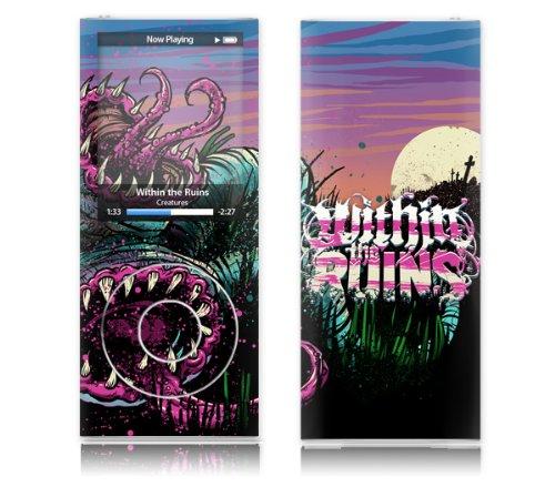 MusicSkins Within The Ruins - Skin Godmachine per Apple iPod Nano (4G)