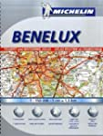 Road Atlas Benelux A4 spiral (Micheli...