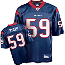 Youth Houston Texans #59 Demeco Ryans Team Replica Jersey