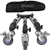 51kQ8Eknr3L. SL160  Ravelli ATD Professional Tripod Dolly for Camera Photo Video