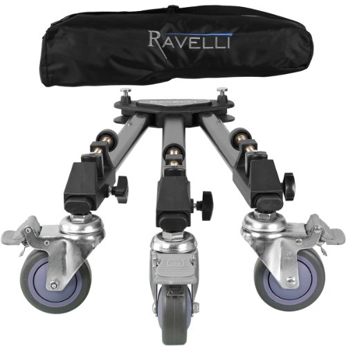 Ravelli ATD Professional Tripod Dolly for Camera Photo Video image