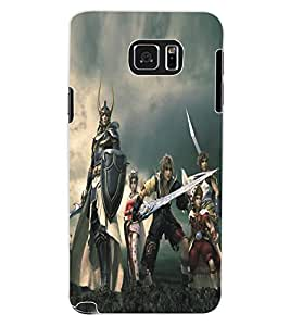 ColourCraft Warriors Design Back Case Cover for SAMSUNG GALAXY NOTE 5