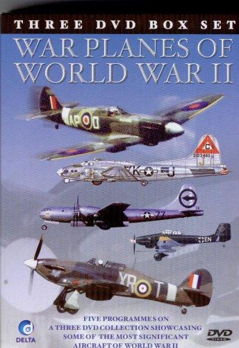 War Planes of World War II - 3 DVD box set NTSC