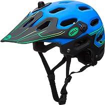 Helmet Super S blu/grn moto Be